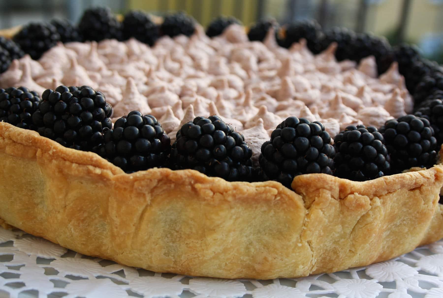Double Chocolate Tart with Blackberries: Recipe for Chocolate Lovers ...