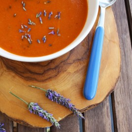 Tomato Soup with Lavender