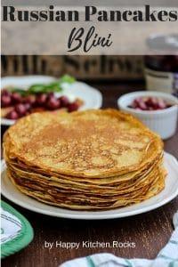 Russian Pancakes Pinterest