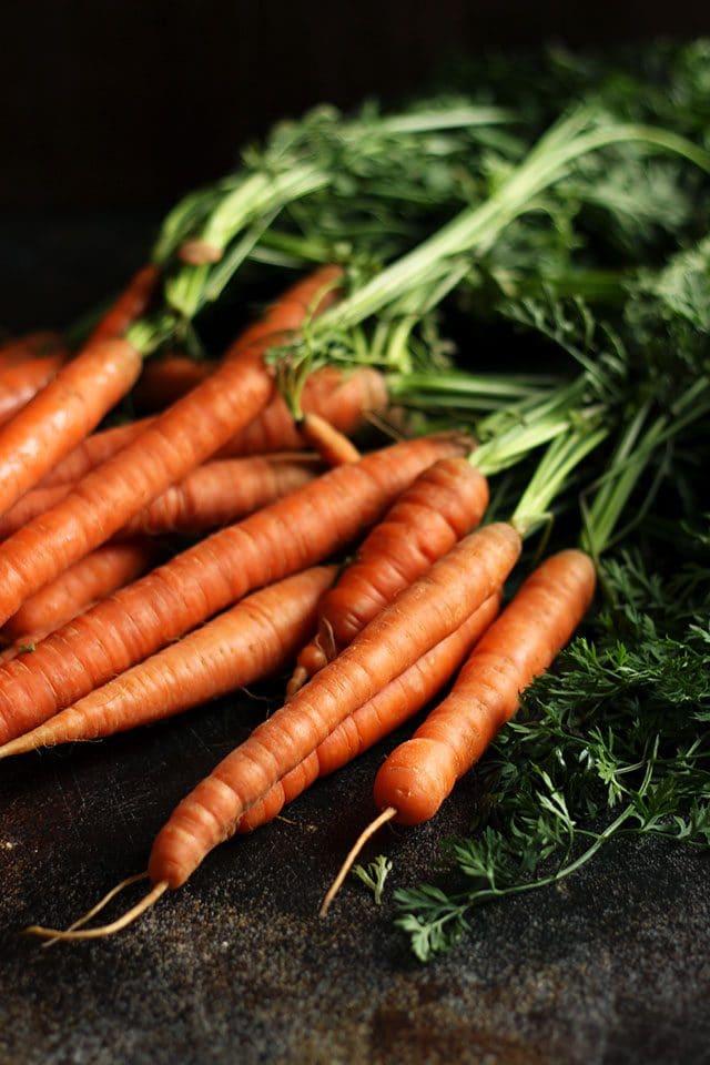 Ingredients for Russian Borscht - Carrots