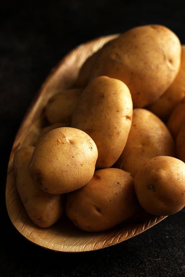 Ingredients for Russian Borscht - Potatoes