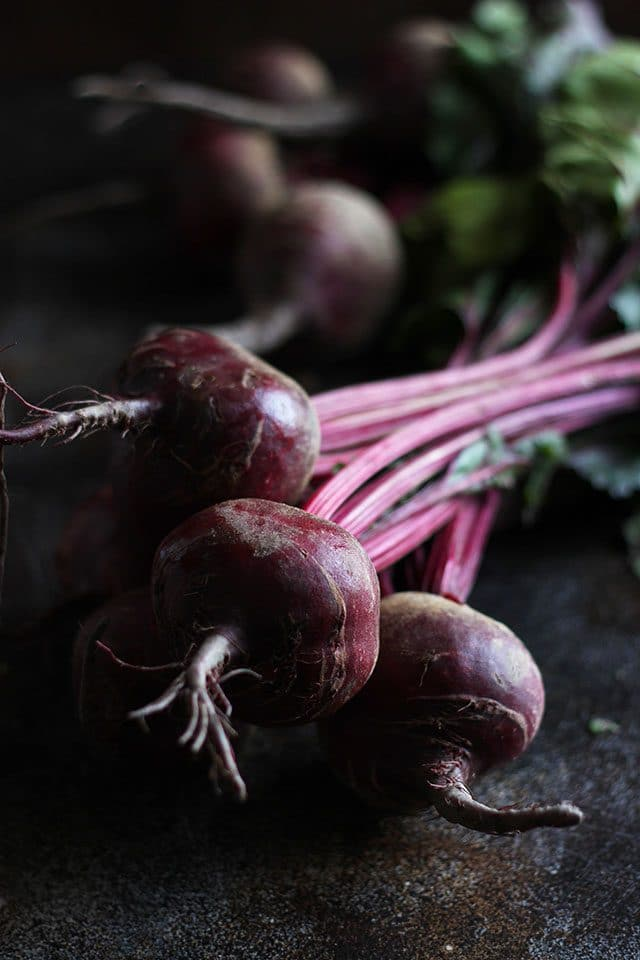 Ingredients for Russian Borscht - Red Beets