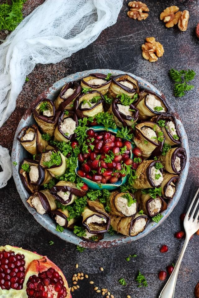 Vegan Eggplant Appetizer Recipes