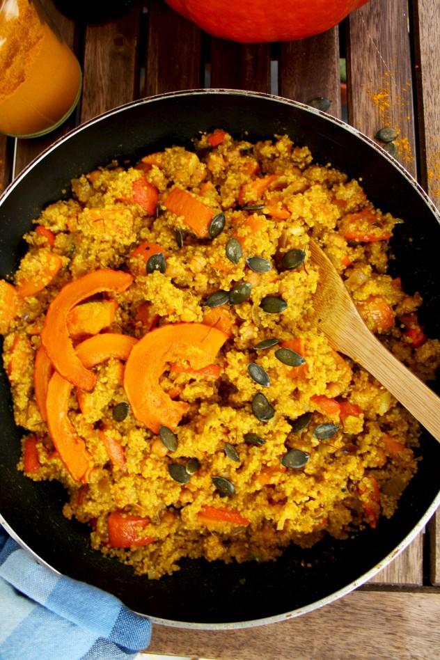 Easy vegan quinoa risotto