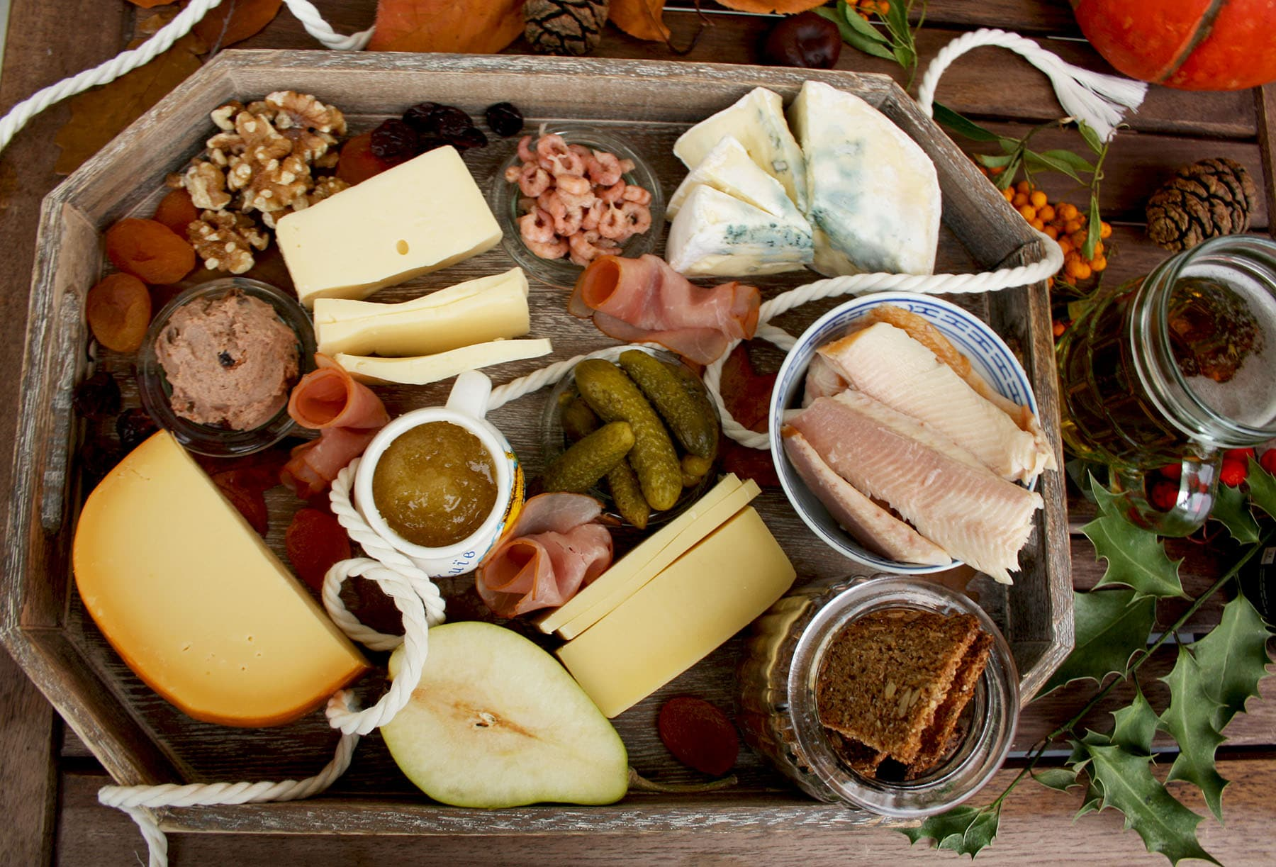North German Cheese Plate and Easy Crackers Recipe effortless and impressive appetizers and cheeses & North German Cheese Plate and Easy Crackers Recipe u2022 Happy Kitchen.Rocks