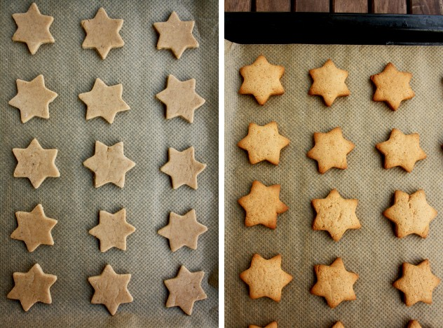 German Christmas Cookies - Lebkuchen - Beautiful Stars