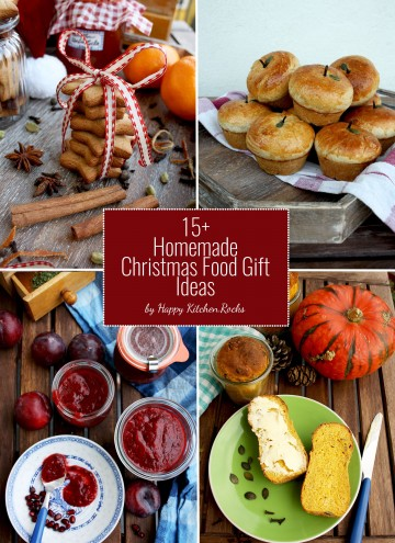 15+ Homemade Christmas Food Gift Ideas