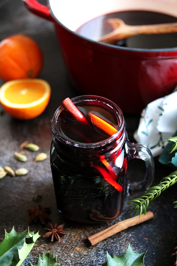 German Mulled Wine (Gluhwein)