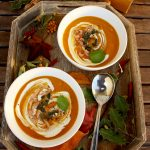 Pumpkin Soup with Secret Spice Mix: Rich and perfectly balanced taste with sweet, slightly tangy, aromatic and astringent notes. Quick, easy and healthy!