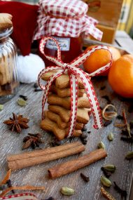 German Christmas Cookies: Lebkuchen. Authentic recipe of the most popular German cookies: spicy, soft and incredibly flavorful. Give them as gifts to your family and friends! Spice mix recipe provided.