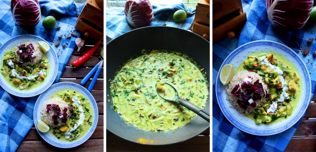 Easy and Flavorful Green Curry with Mussels and Bok Choy: Perfect weeknight dinner ready in just 30 minutes! It has a fresh