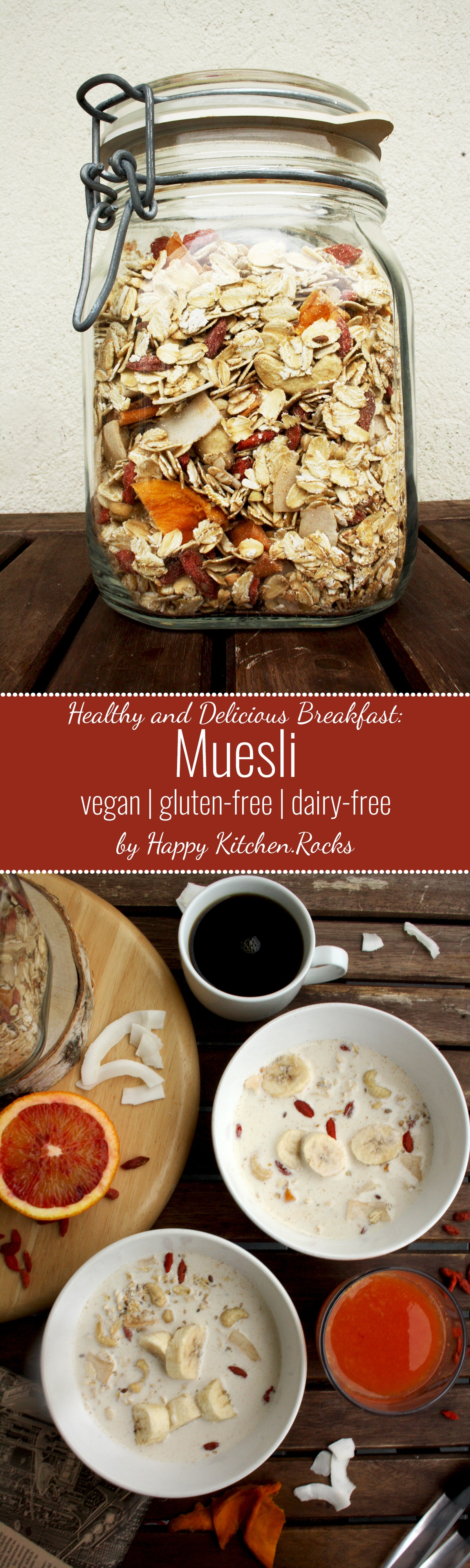 Muesli recipe a healthy and delicious breakfast idea happy muesli recipe delicious wholesome nutritious and quick breakfast based on grains nuts forumfinder Choice Image