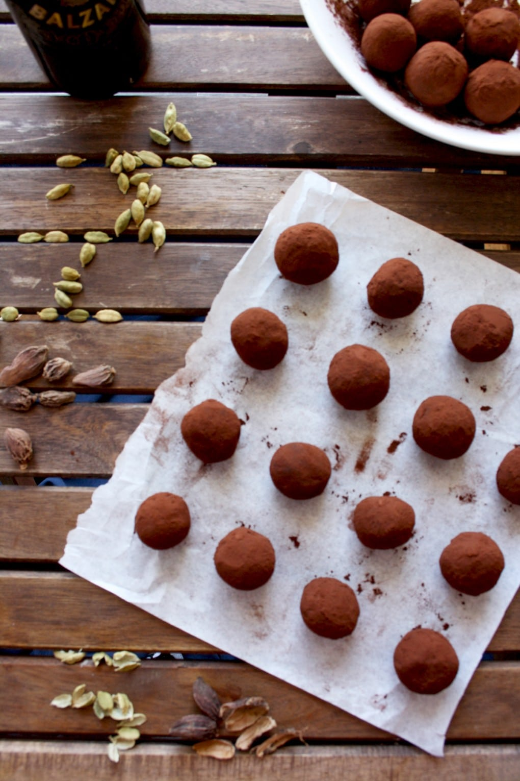 Three Chocolate Truffles Recipes - First Recipe Before Being Packed and Turned into a Perfect Present