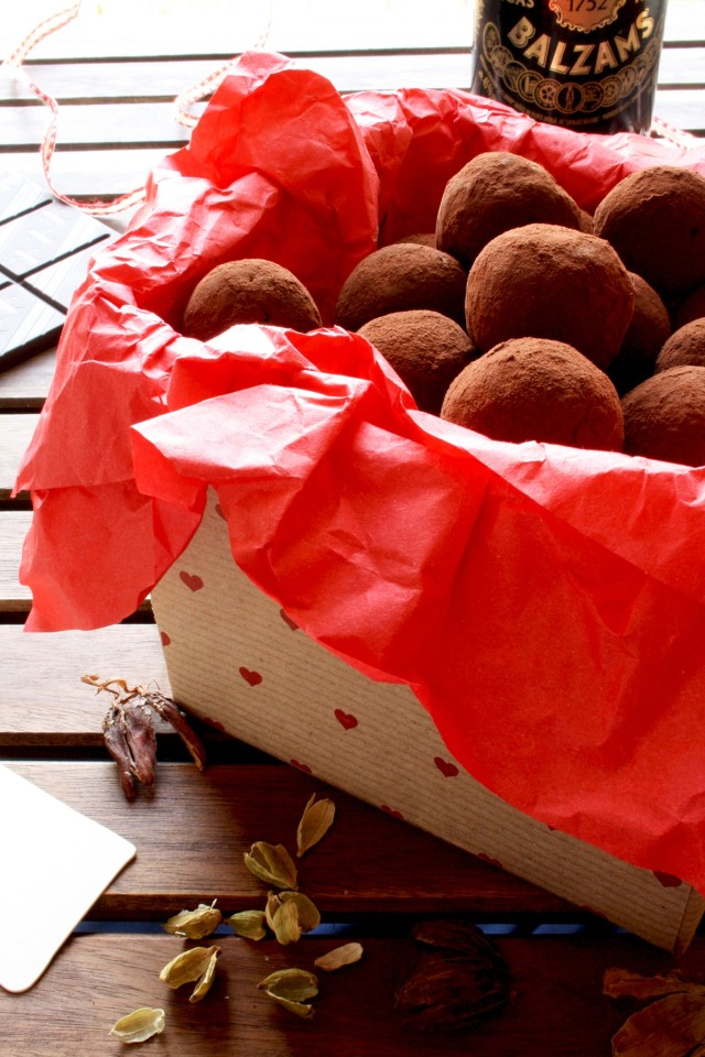 Three Chocolate Truffles Recipes - First Recipe Packed and Ready on the Table