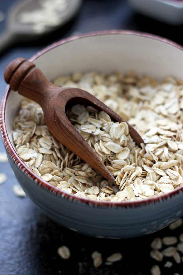 Muesli Recipe: A Healthy and Delicious Breakfast Idea - Oats Ingredient Closeup