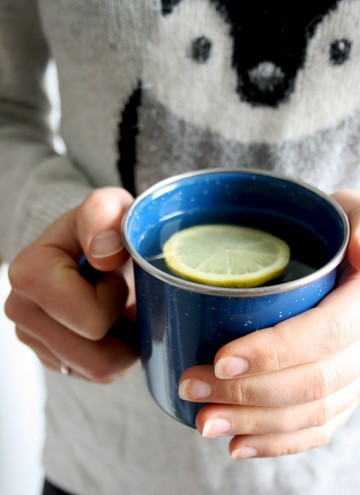Natural Flu Remedy: Magic 4-Ingredient Tea - Holding in Hands Another Shot