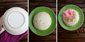 Healthier Russian Easter Paskha Steps 4 Collage