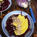 Sauerkraut Salad with Mango