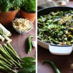 Green Shakshuka Collage of Two Vertical Images