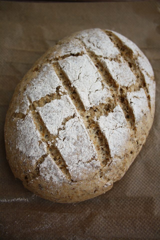Easy No-Knead Beer Bread - Beautiful Closeup Makes Your Mouth Water