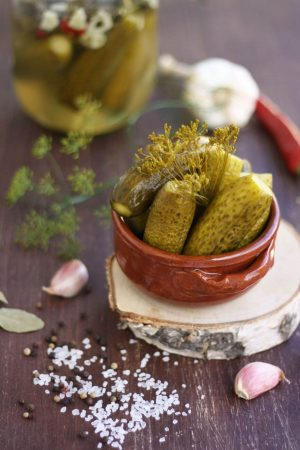 Russian Dill Pickles