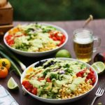 Vegan Mexican Chopped Salad with Avocado Dressing Image