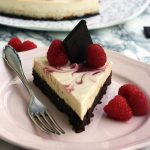 Healthy Brownie Cheesecake