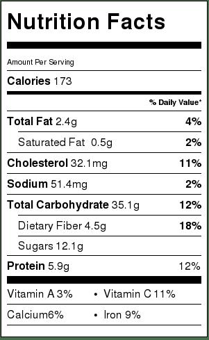 nutritious-information-gluten-free-blueberrz-galette