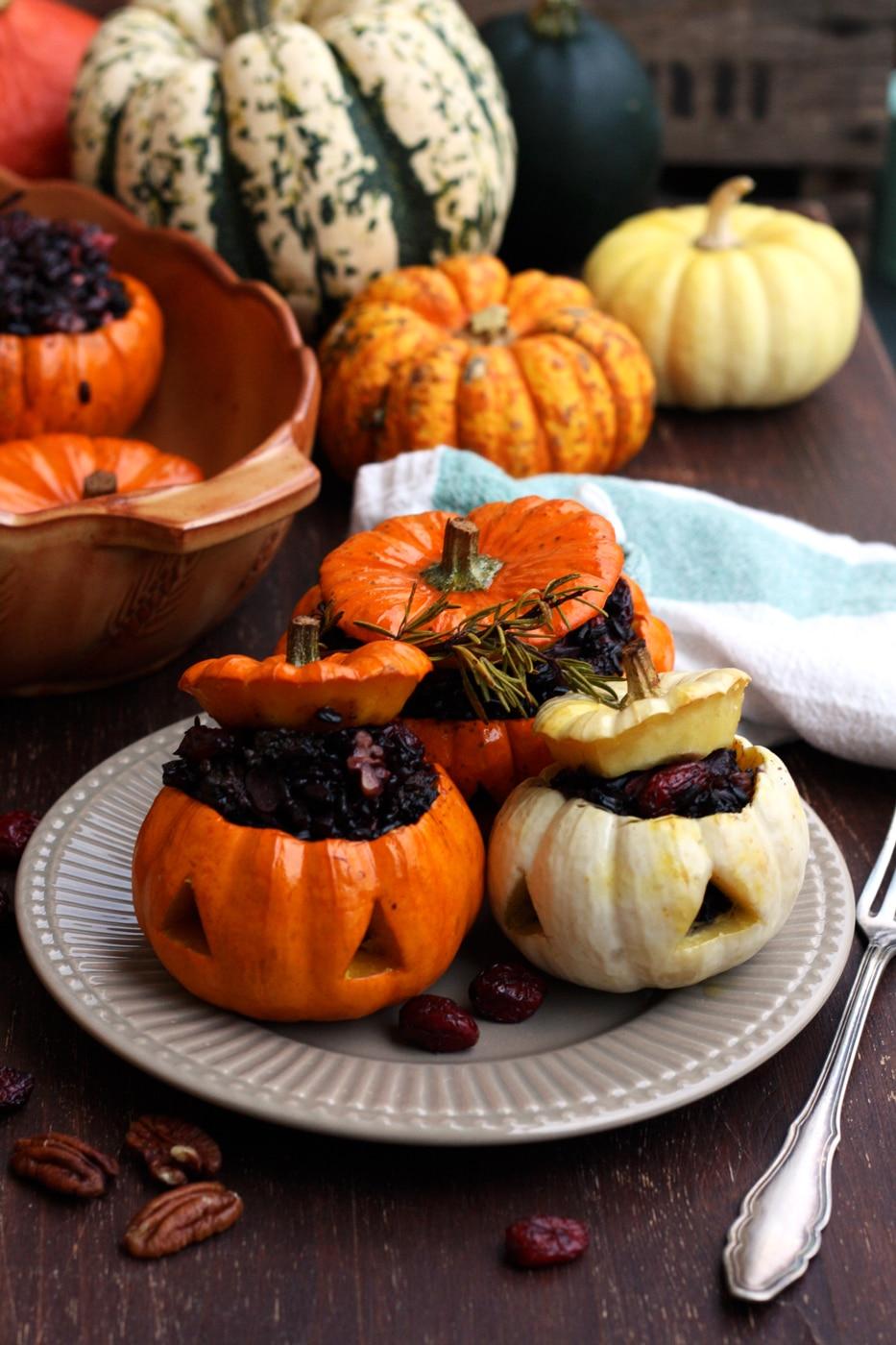 Halloween Stuffed Pumpkins • Happy Kitchen.Rocks