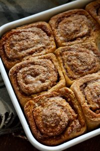 Healthy Cinnamon Sweet Potato Rolls in a Tray - Delicious Brunch Recipe