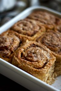 Healthy Cinnamon Sweet Potato Rolls