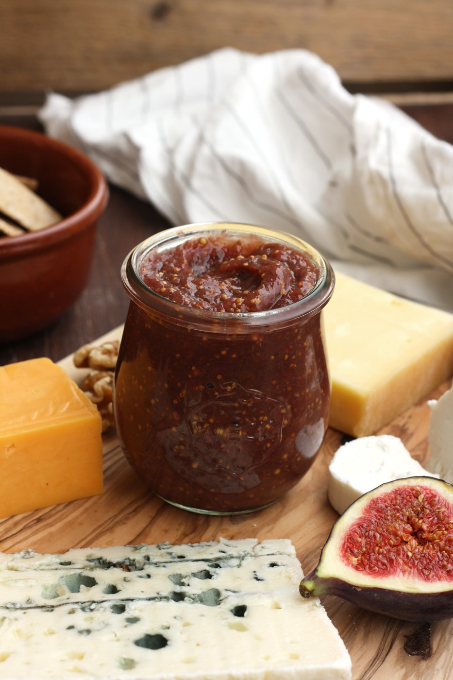 Homemade Fig Mustard