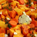 Roasted Butternut Squash Soup - Recipe Step One Illustration