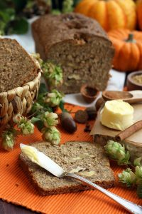 Healthy Pumpkin Bread with Walnuts - Perfect Breakfast to Warm Up