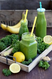 Delicious Kale Smoothie Incredibly Delicious and Healthy Composition