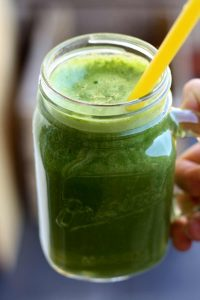 Delicious Kale Smoothie - Cheering with Smoothie Has Never Been More Fun