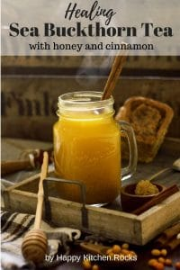 Healing Sea Buckthorn Tea with Honey and Cinnamon Pinterest