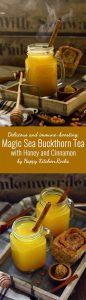Meet sea buckthorn! Delicious immune and metabolism boosting magic sea buckthorn tea will support your health and make your skin glow! Being an amazing source of nutrients and vitamins, this healing tea is worth to try to stay healthy through the winter!