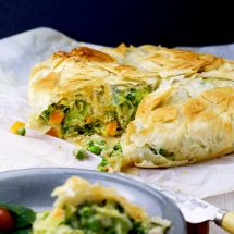 Healthy Vegetarian Pot Pie