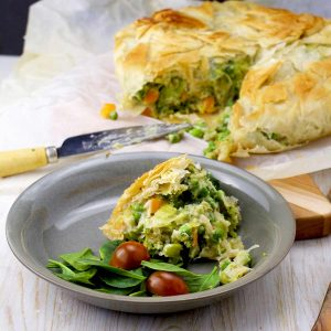 Healthy Vegetarian Pot Pie Perfect Main Dish for Easter