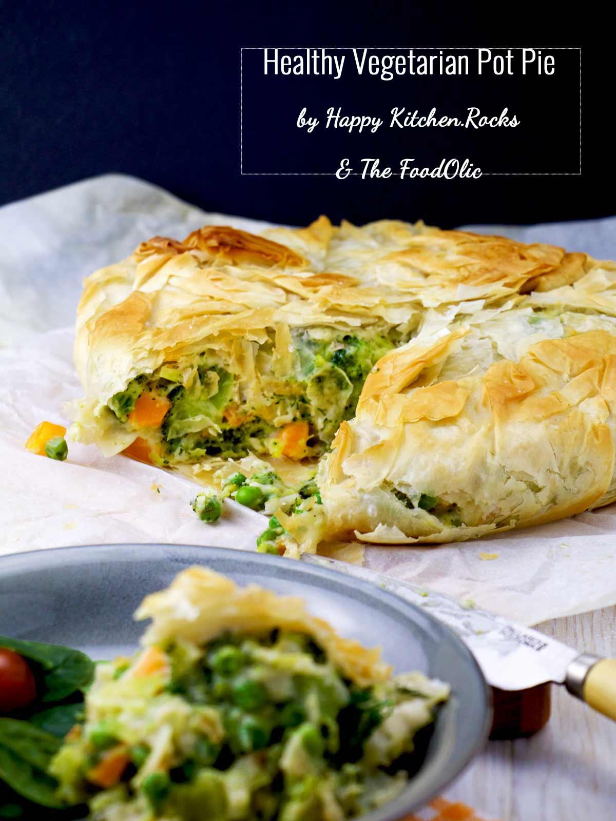Healthy Vegetarian Pot Pie Healthy Recipe