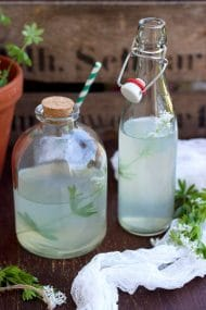 Healthy Sweet Woodruff Lemonade