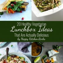 20 Healthy Vegetarian Lunchbox Ideas That Are Actually Delicious
