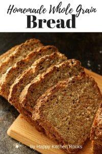 Whole Grain Bread Pinterest