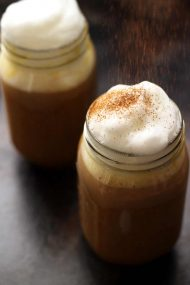 Healthy Vegan Pumpkin Spice Latte
