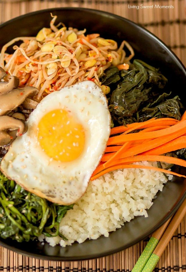 Korean Cauliflower Bibimbap