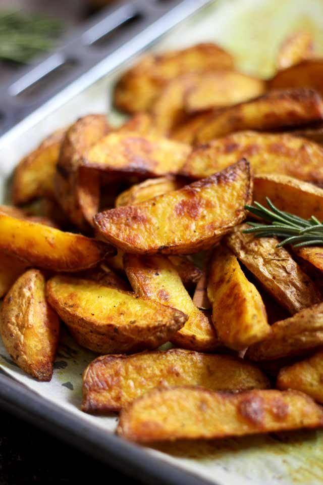Easy Baked Potato Wedges