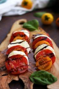 Classic Insalata Caprese (Tomato Mozzarella Salad)