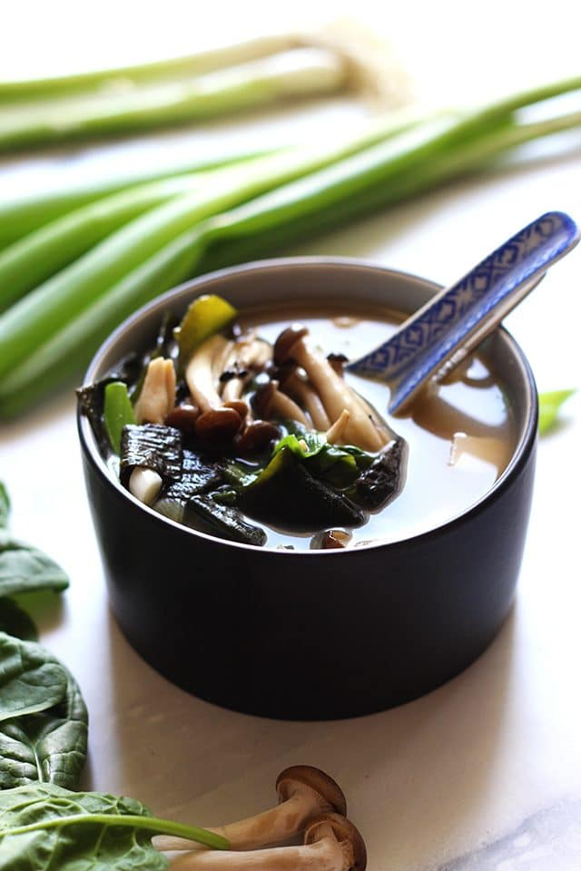 Easy Miso Soup (Japanese Clear Soup) - Incredibly Flavorful and Healthy Recipe