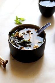 Easy Miso Soup (Japanese Clear Soup)